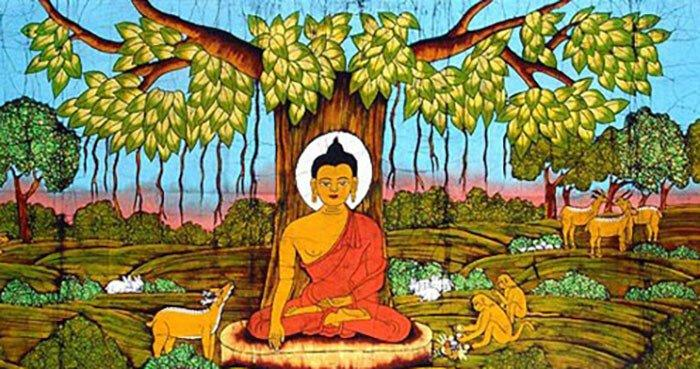 The Buddha is always within us.